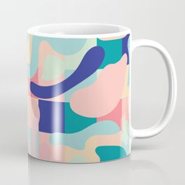 Summer Vibes Pattern Coffee Mug