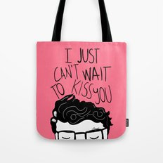 I just can't wait to kiss you ♥ Tote Bag