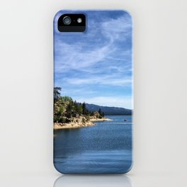 Big Bear Lake iPhone Case