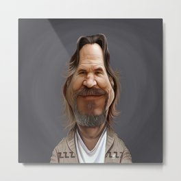 Jeff Bridges Metal Print