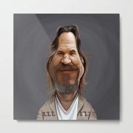 Jeff Bridges Metal Print