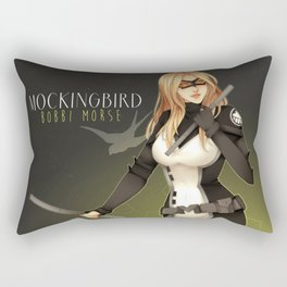Mockingbird Rectangular Pillow