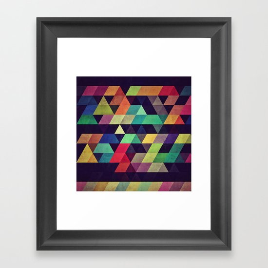 ZTYRLA Framed Art Print