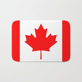 Canadian Flag Bath Mat