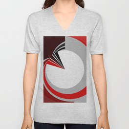 Colours in a circle Unisex V-Neck