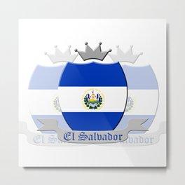 El Salvador Metal Print