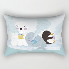 polar coffe Rectangular Pillow