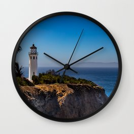 Point Vicente Lighthouse Wall Clock