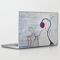 soul Laptop & iPad Skins featuring soul by Loosso