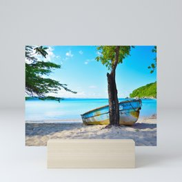 Beautiful Palms Beach Mini Art Print