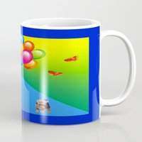 clown Mugs featuring Clown by Art-Motiva