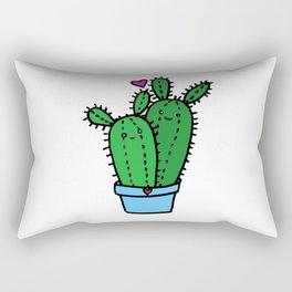 Kawaii Cacti Rectangular Pillow