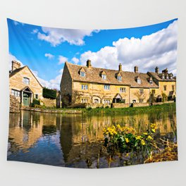 Lower Slaughter (The Cotswolds) Wall Tapestry