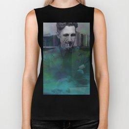 George Orwell Biker Tank