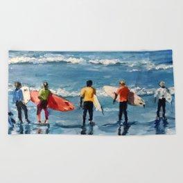 Crown City Surf Kids Beach Towel