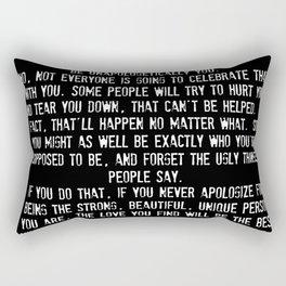 Be Yourself Quotes Rectangular Pillow
