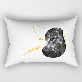 Gestalt Cat Rectangular Pillow