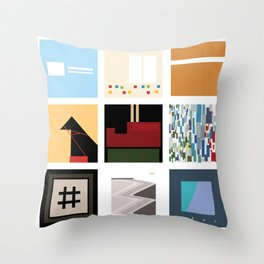 Death Cab For Cutie Throw Pillow