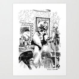 Lulu Bazooka Art Print