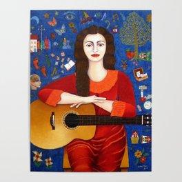 """Violeta Parra - """"Thanks to Life """" Poster"""