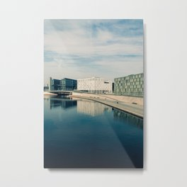 ALONG THE SPREE / Berlin, Germany Metal Print