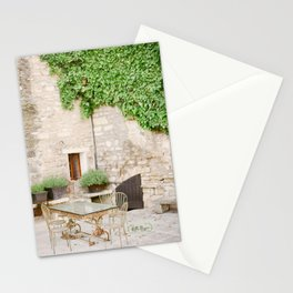Gilded and Green Stationery Cards
