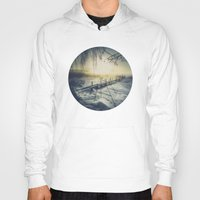 rowing Hoodies featuring Winter you winter me by HappyMelvin