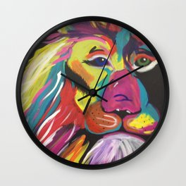 Lion Bright Wall Clock