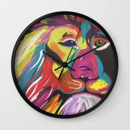 Lion Bright Wall Clock
