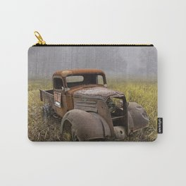Vintage Chevy Pickup for Sale in a Field of Grass Carry-All Pouch