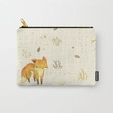 Lonely Winter Fox Carry-All Pouch