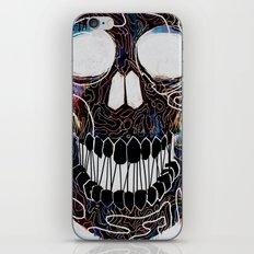 Chromatic Skull V.04 iPhone & iPod Skin