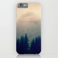 Only God Can Make a Tree Slim Case iPhone 6s