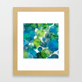 Sea of Glass Framed Art Print