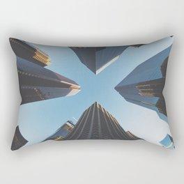 NYC Skyscrape Rectangular Pillow