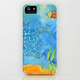 Secret Turtle iPhone Case