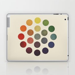 'Parsons' Spectrum Color Chart' 1912, Remake Laptop & iPad Skin
