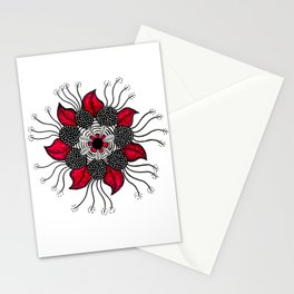 Flower Mandala Stationery Cards