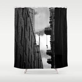 Melbourne Lanes Shower Curtain