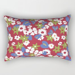 Modern bold liberty print Rectangular Pillow