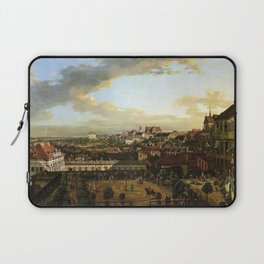 Bernardo Bellotto View of Warsaw from the Royal Castle Laptop Sleeve