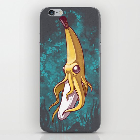 Banana Squid!!! iPhone Skin
