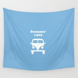 Summer 1969 -  lt. blue Wall Tapestry
