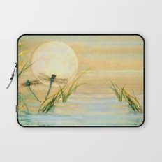 Dragonfly Moon  Laptop Sleeve
