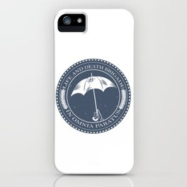 The Life and Death Brigade iPhone Case