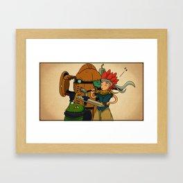Chrono Trigger Tribute  Framed Art Print
