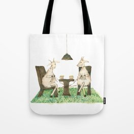 Sheep knitting Tote Bag