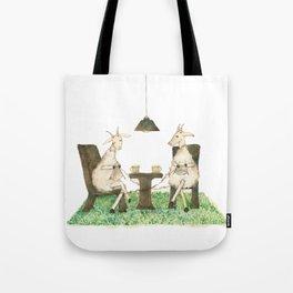 Sheep knitting Tote Bag