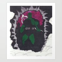 Assault - Mutant Killer Art Print