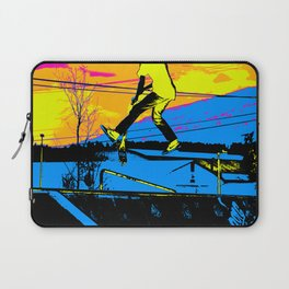 """Air Walking""  - Stunt Scooter Laptop Sleeve"